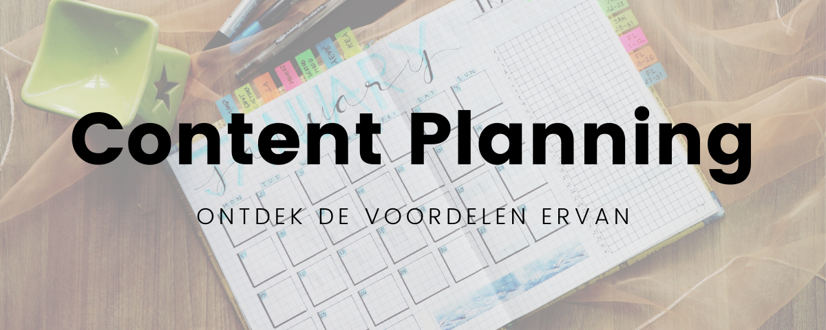 Lees meer over het artikel Hoe moet ik een content planning maken?